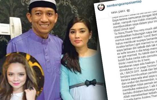 Rumahtangga Fasha Sandha dan Jejai retak, Nora Danish Jadi Punca?