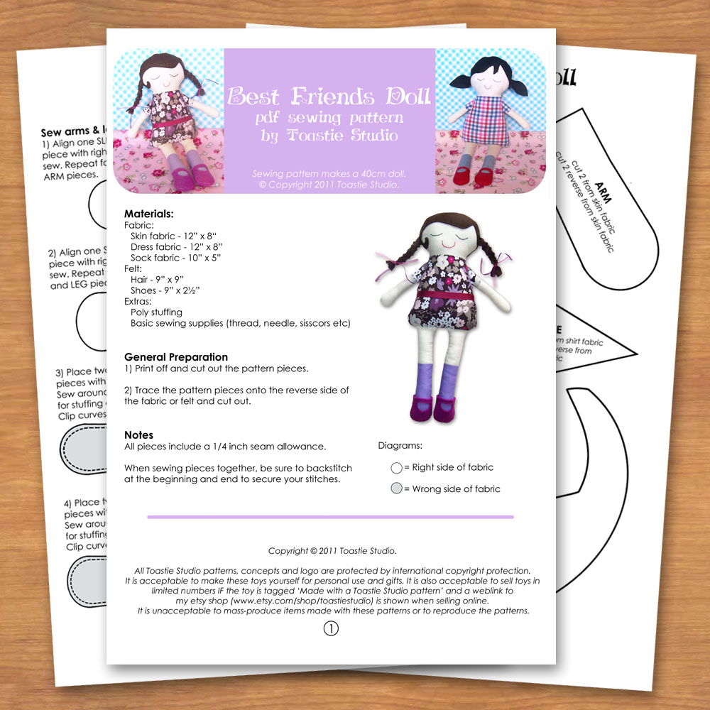 dollsewingpattern Access to both samples is free, but requires the proprietary Shonen Jump ...