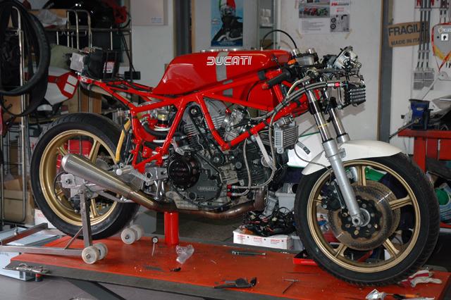 Red Fox Grinta Racing Ducati