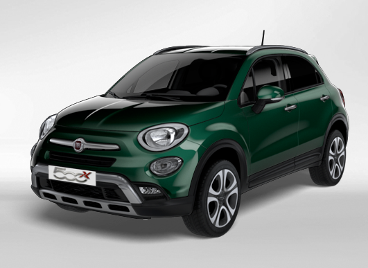 Fiat 500x Cross 2018 Couleurs Colors