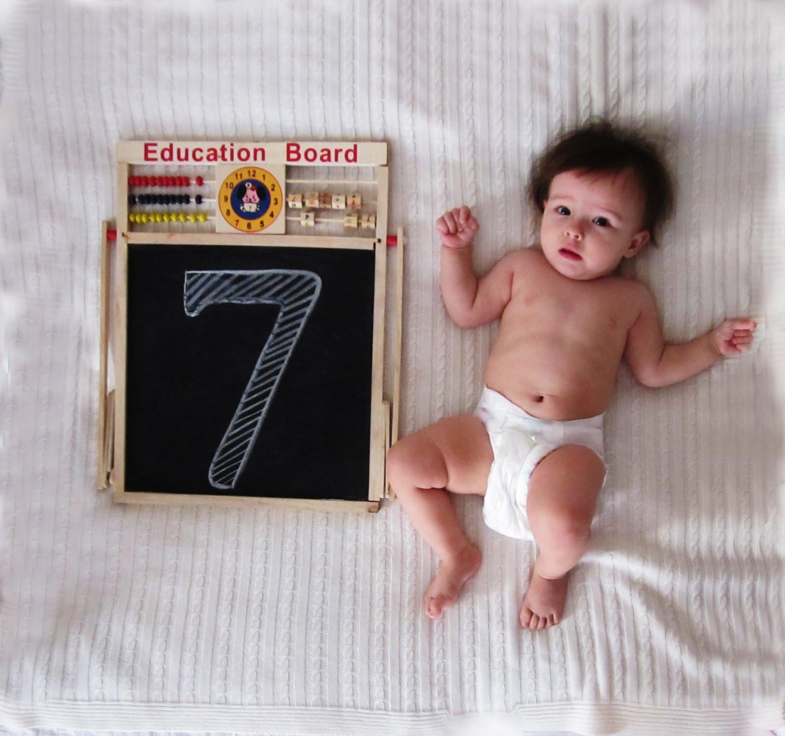 Стефании 7 месяцев