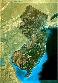 New Jersey via satellite