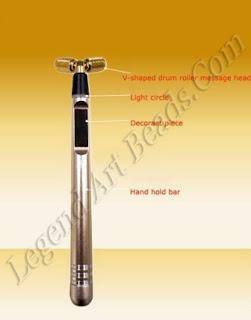shaving razor of Gold