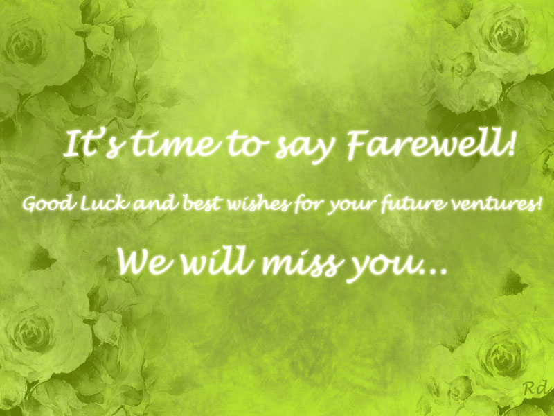 Farewell Quotes. QuotesGram
