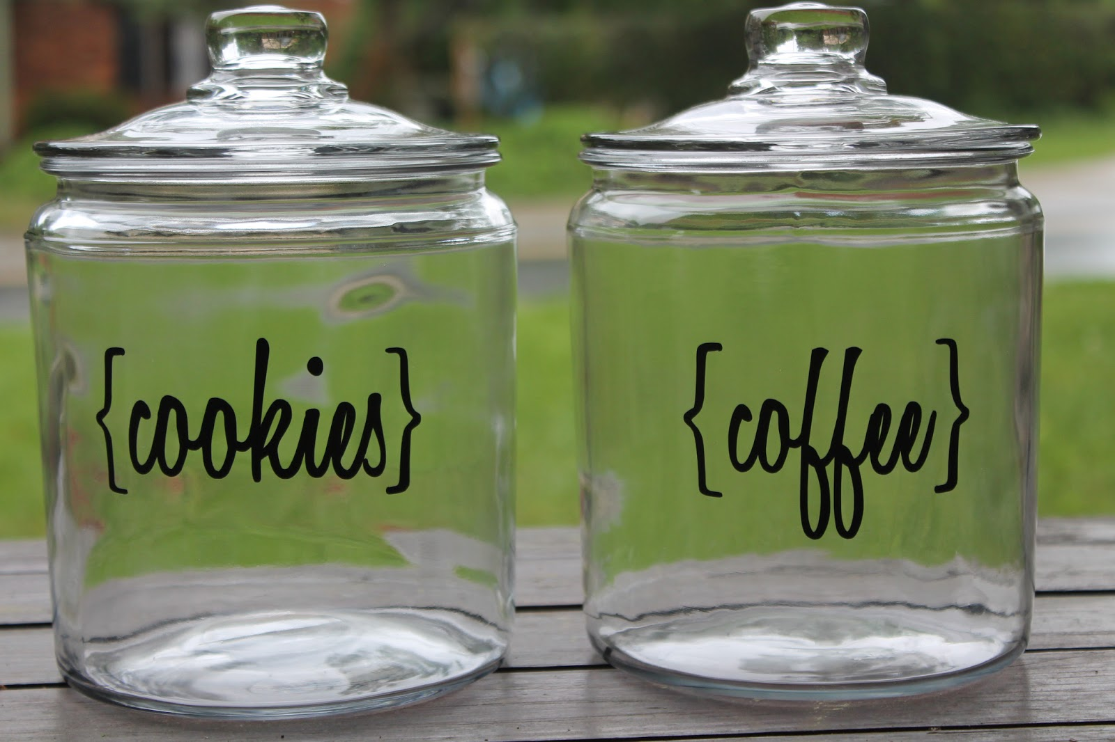 carolina charm diy kitchen canisters