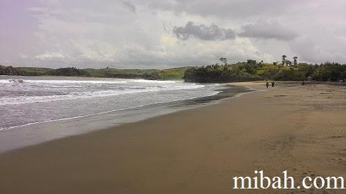 Foto pantai serang