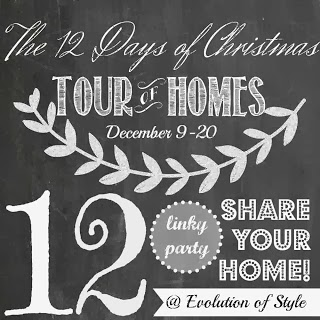 The 12 Days of Christmas Share Your Home Linky Party