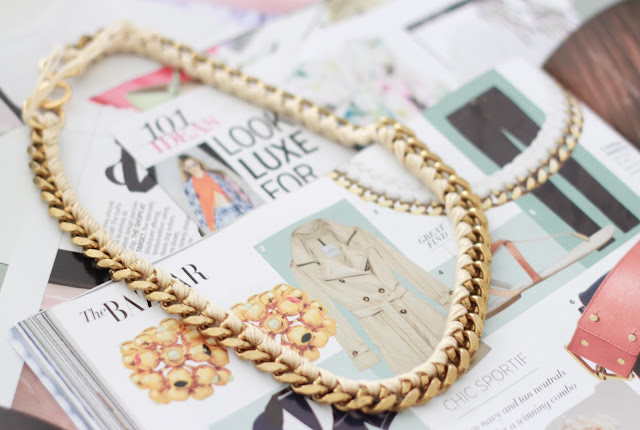 DIY Aurelie Bidermann Inspired Chain Necklace