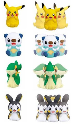 Pokemon Turning Body Gimmick Plush Tomy