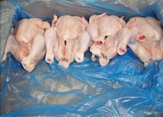 Kef : Saisie de quelque 200 kg de poulets pourris
