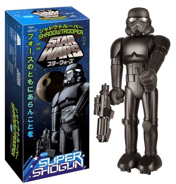 Star Wars Celebration 2015 Exclusive Shadowtrooper Super Shogun Vinyl Figure by Super7 & Funko