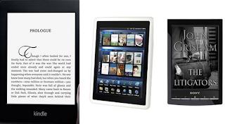 Sony, Kindle, Pandigital