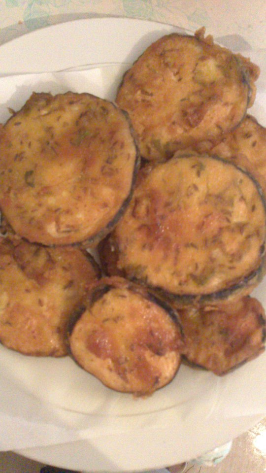 recettes du chef beignets d aubergine bringelle