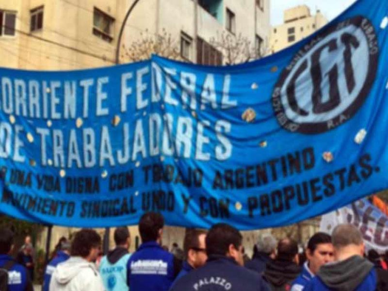 CGT argentina convoca a paro general el 6 de abril