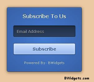 how to add a subscription box in blogger