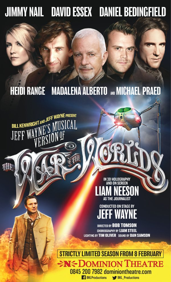 Heidi starring in War of the Worlds