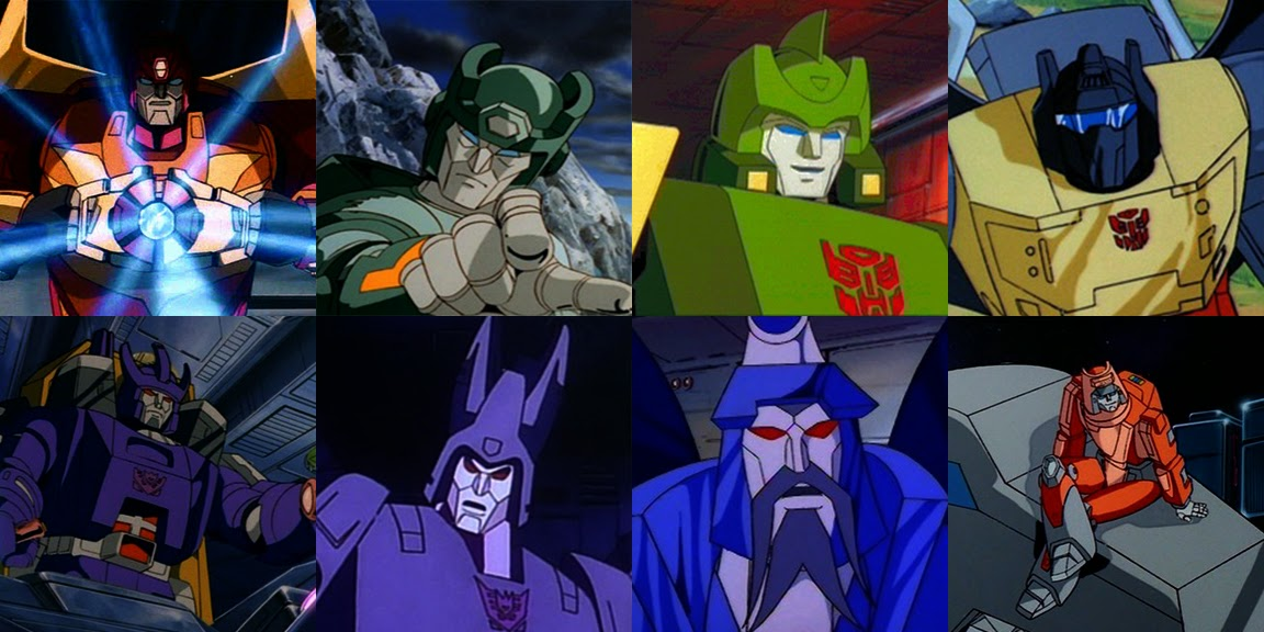 Hot Rod Rodimus Prime Kup Springer Grimlock Galvatron Cyclonus Scourge Wheelie Transformers The Movie 1986 G1