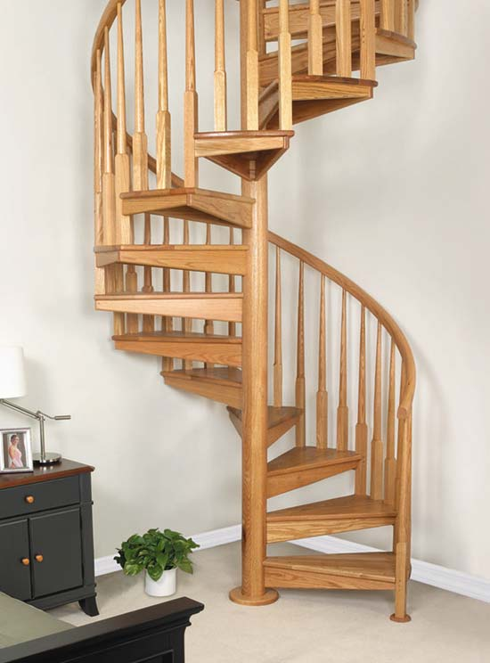 Stress case my biggest fears stairs for Spiral staircase blueprints