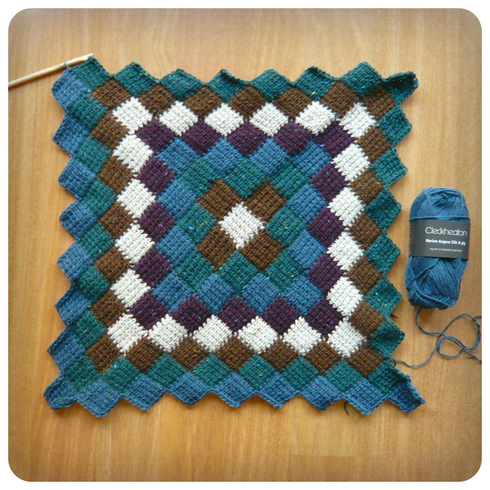 Shara lambeth designs entrelac tunisian crochet blanket entrelac tunisian crochet blanket bankloansurffo Gallery