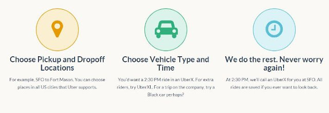 Schedule your Uber rides with Bumber App