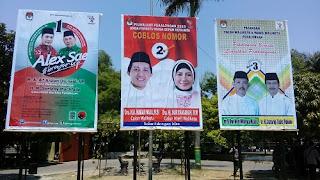 KPU Kota Pekalongan Mulai Pasang Alat Peraga Kampanye