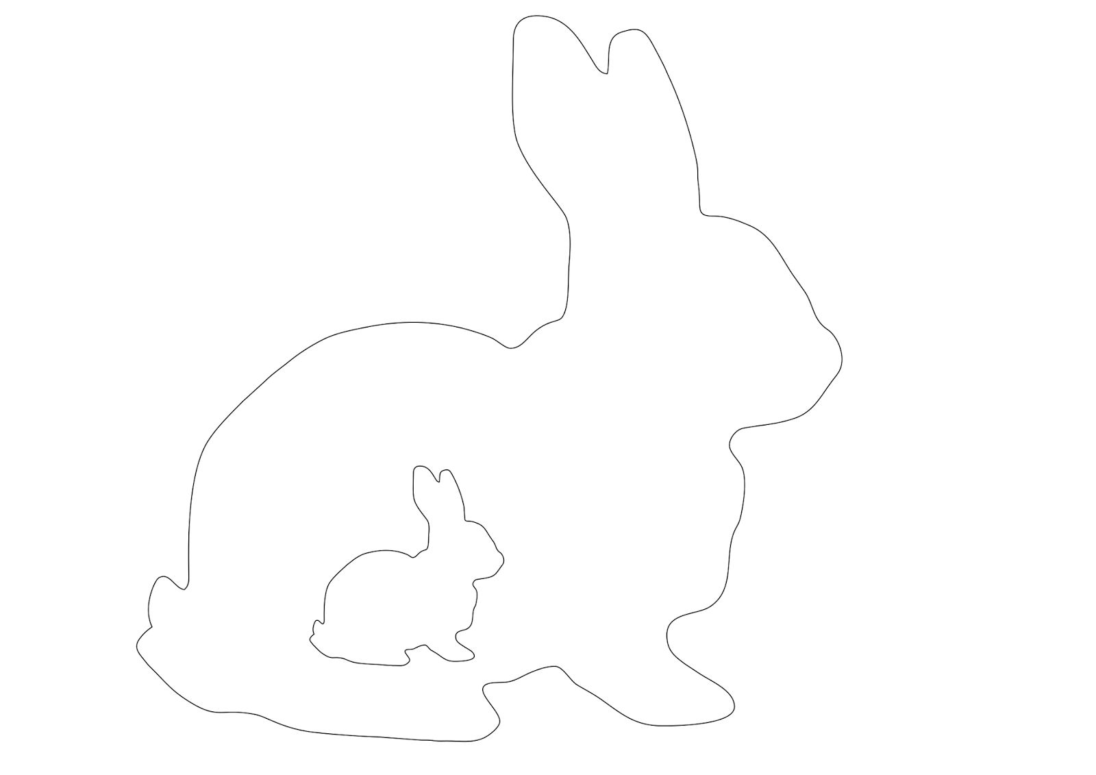 molde coelho de páscoa