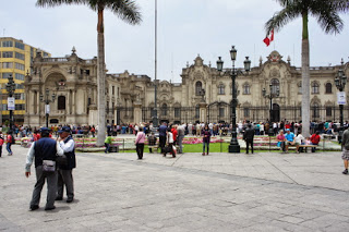 La Plaza de Armas di Lima