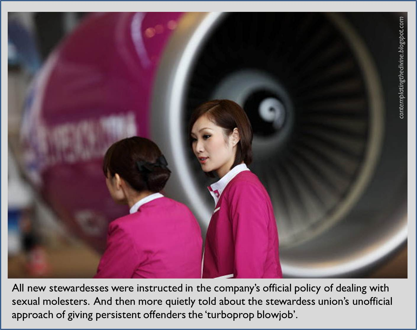 Stewardess femdom too