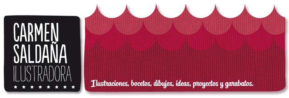 Carmen Saldaña :: Ilustración