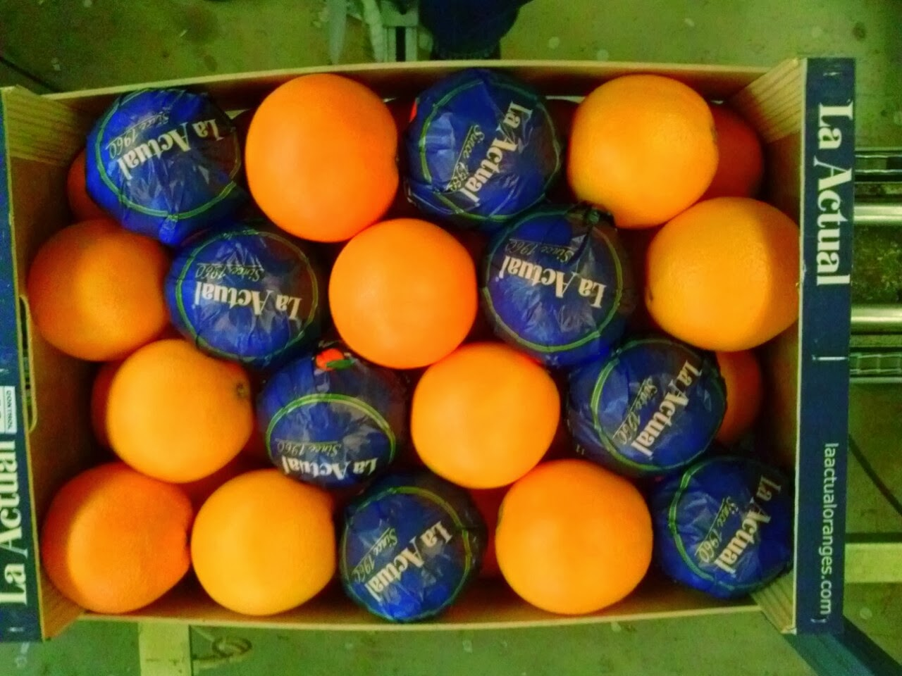 Naranjas La Actual