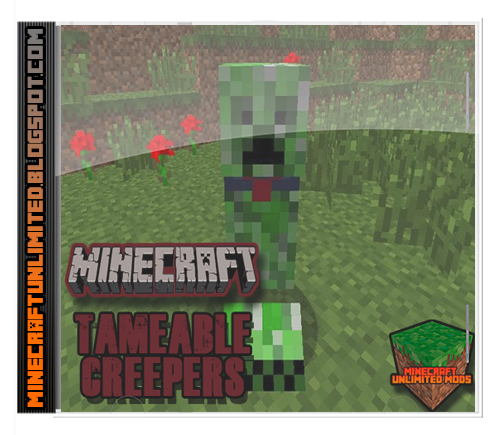 Tameable Creepers Mod Minecraft