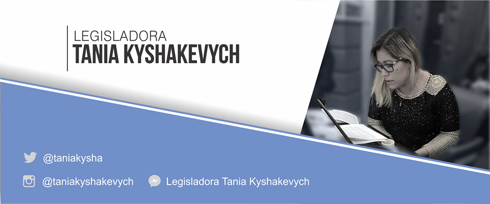 Legisladora Tania Kyshakevych
