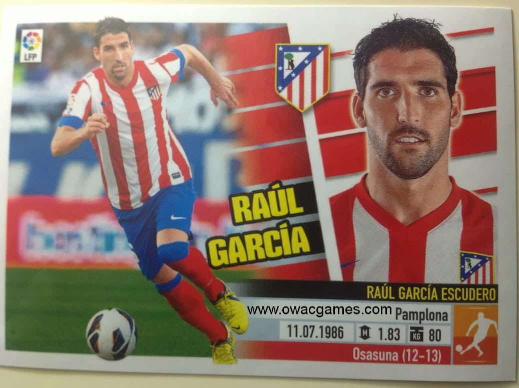Liga ESTE 2013-14 Atl. de Madrid - 11A - Raúl García