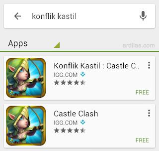 Pencarian konflik kastil - Cara Download & Install Aplikasi Game Konflik Kastil | Android