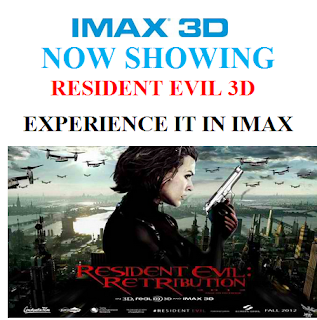 Resident Evil: Retribution SM IMAX 