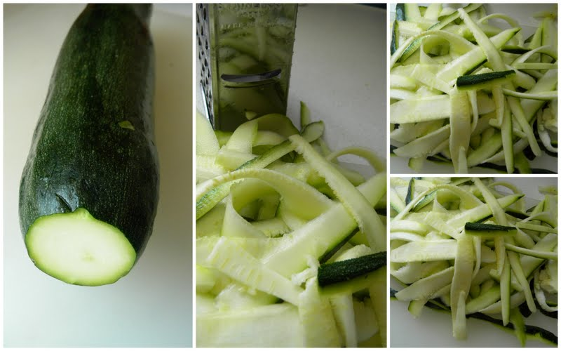 Hot Mess Cooking: Pesto Pasta with Zucchini Ribbons