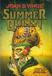 Cover art for The Summer Queen by Joan. D. Vinge