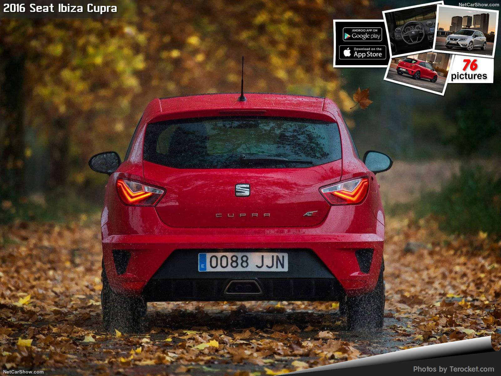 Hình ảnh xe ô tô Seat Ibiza Cupra 2016 & nội ngoại thất