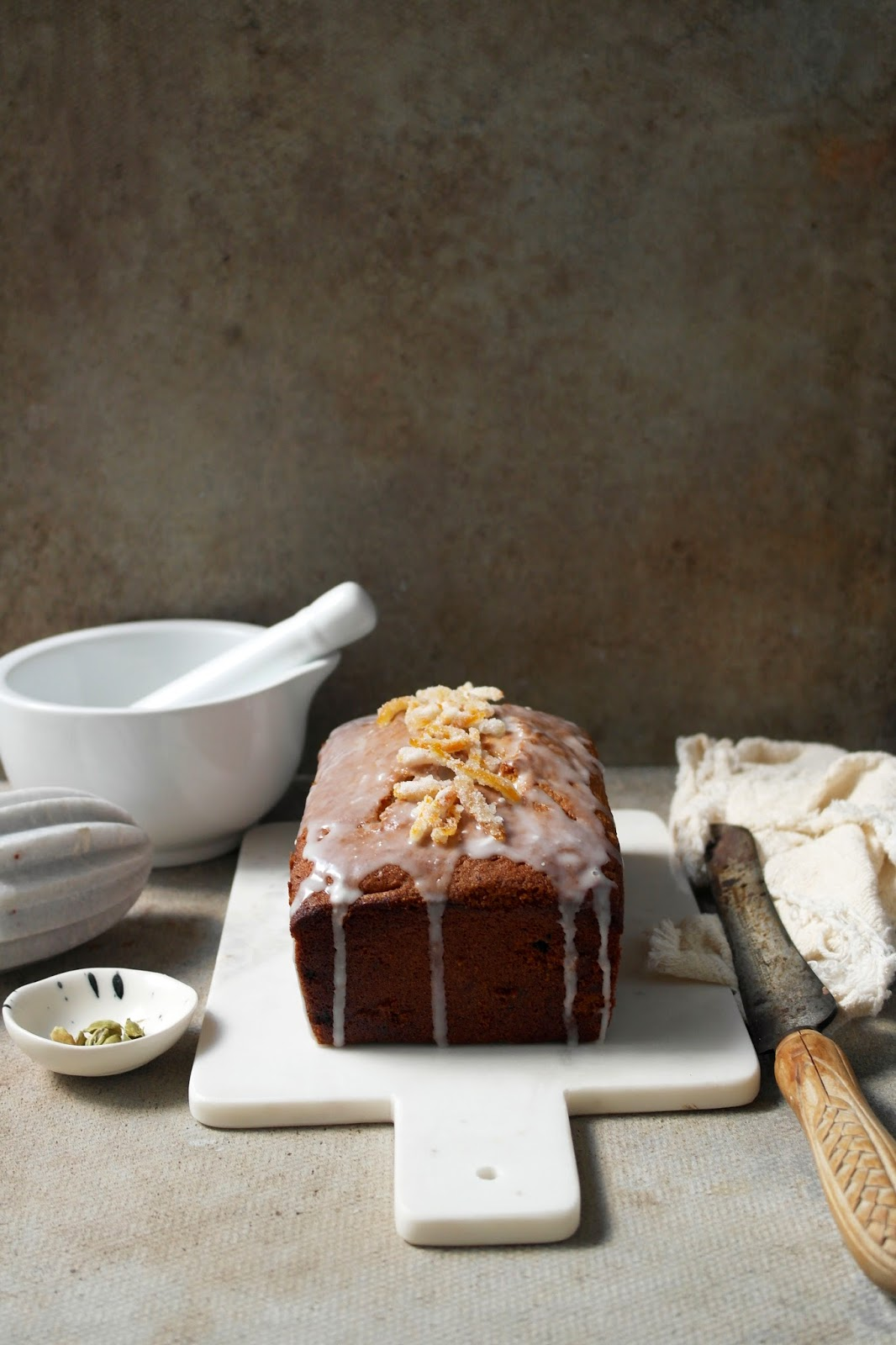 Twigg studios: earl grey cardamom and orange loaf