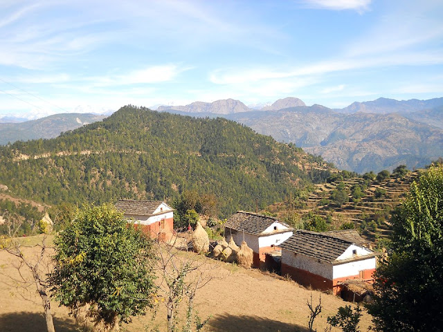 Bhadipatal village of Doti