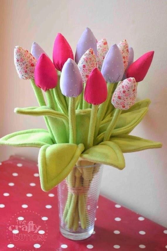 Тюльпаны. Выкройка