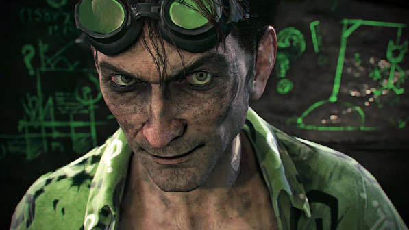 Riddler Arkham Knight 2v