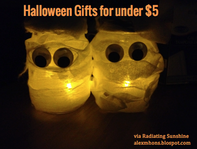 Radiating Sunshine: Halloween Gifts
