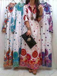 Gamis Katun Rayon fit to L