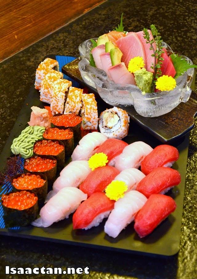 #3 Sashimi / Sushi Combo Platter - RM240