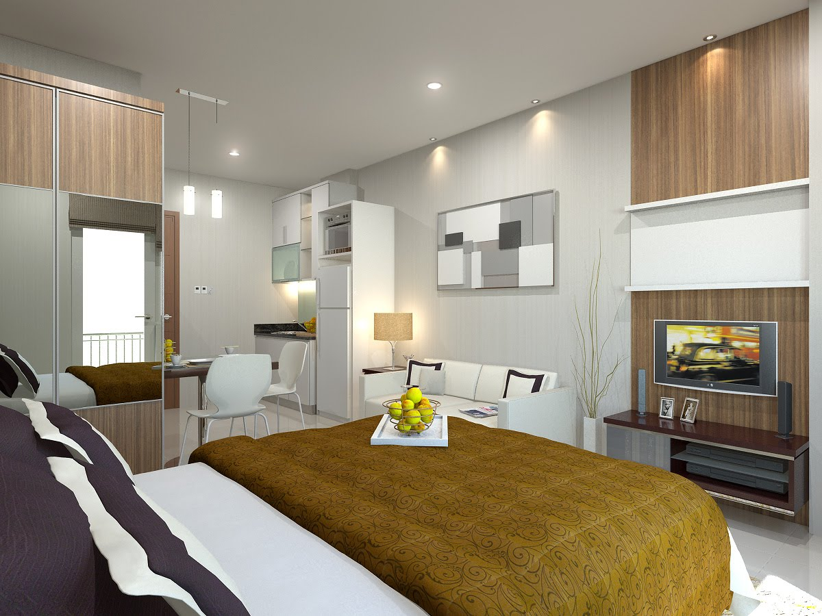 design interior apartemen mungil - kontraktor murah jogja