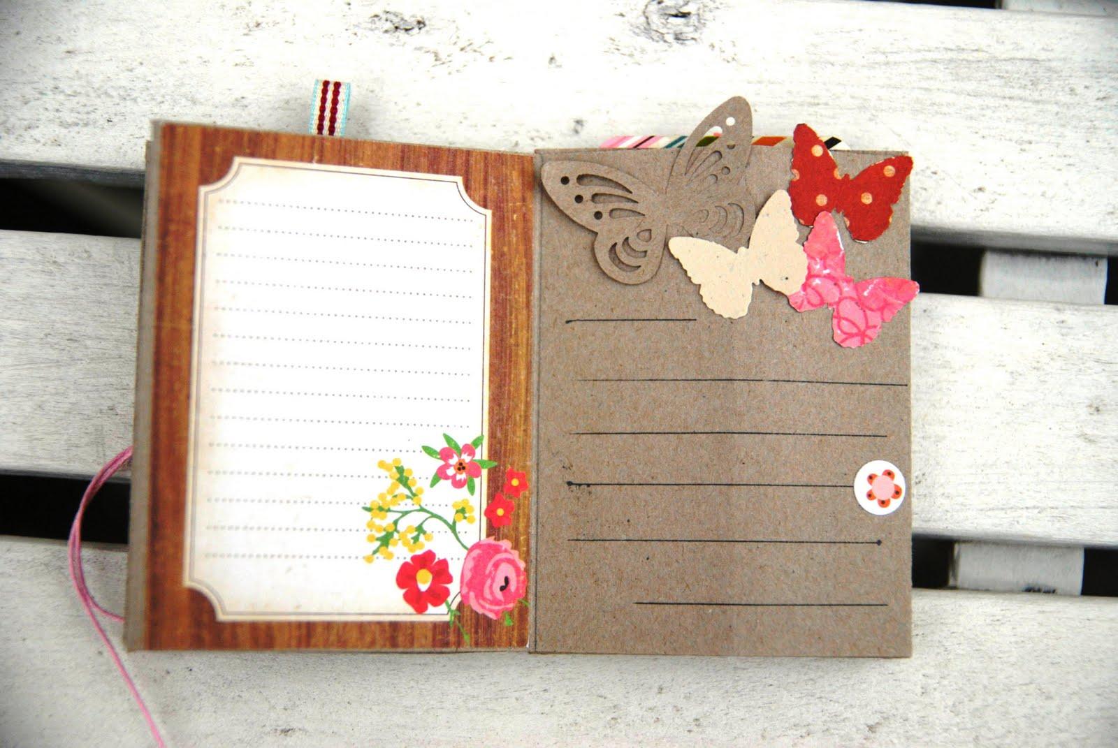 sch ne dinge aus papier leporello mit journaling cards. Black Bedroom Furniture Sets. Home Design Ideas