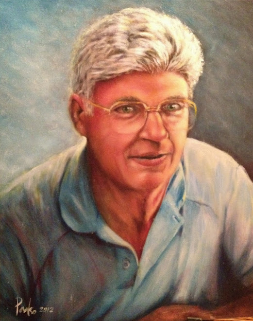 Oil Portrait of my Father-in-law