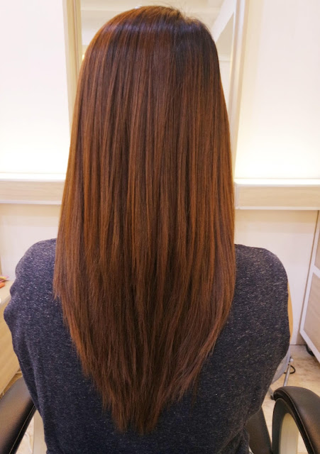 After photo of The Permanent Blowout® with Keratin Essence Hydrating Masque Experience at Design Studio Salon