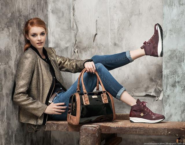 Moda otoño invierno 2015 Blaqué carteras, bolsos, zapatos, botas y abrigos invierno 2015.